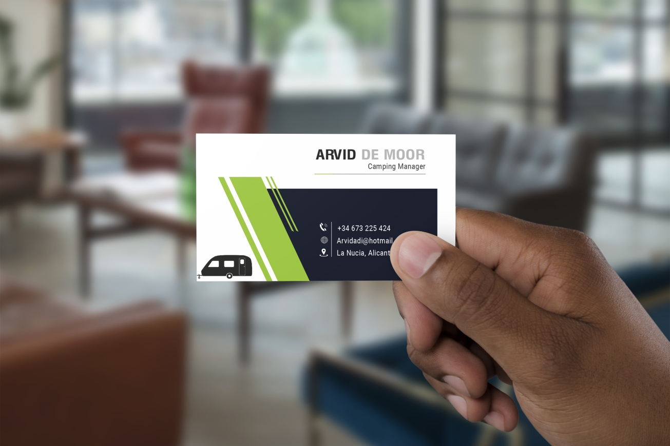 HOLDING BUSINESS CARD _MOCK_UP